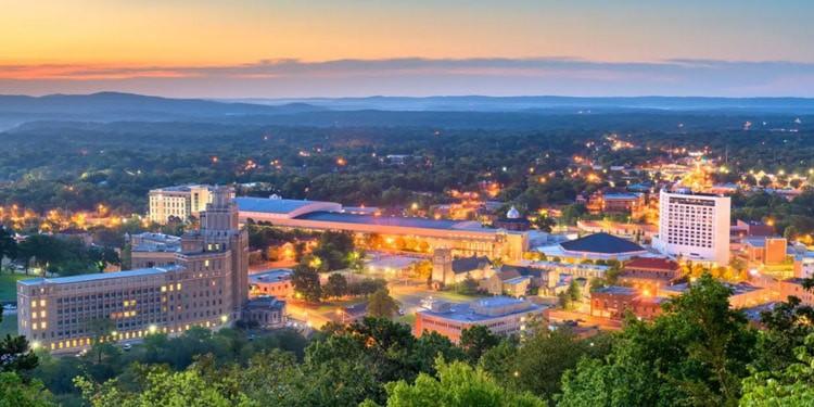 mejores ciudades de Arkansas Hot Springs