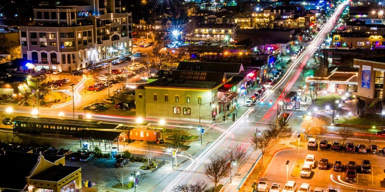 mejores ciudades para vivir en Arkansas