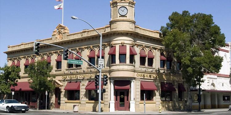 mejores ciudades para vivir en California oakdale