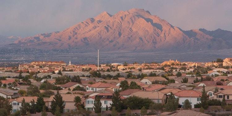 mejores vencindarios Las Vegas Green Valley South