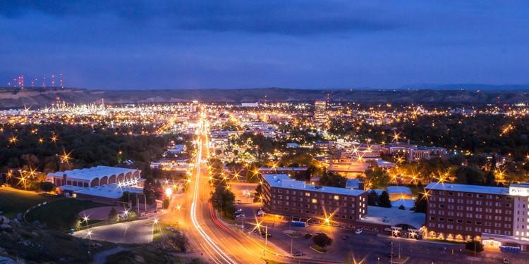 trafico y transporte en Billings Montana