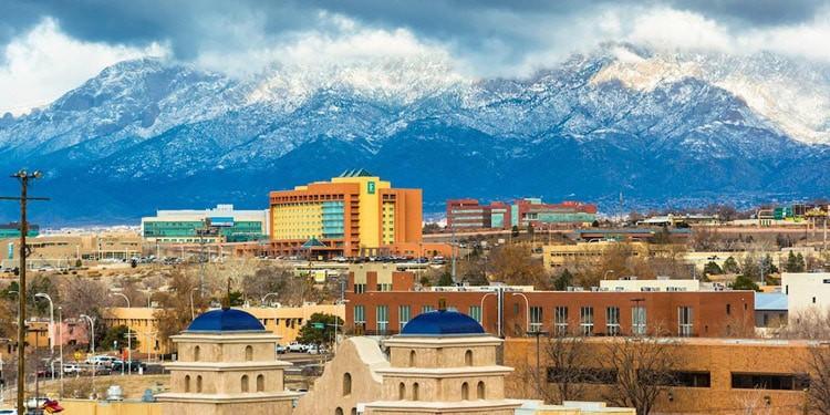 Clima de Albuquerque Nuevo Mexico