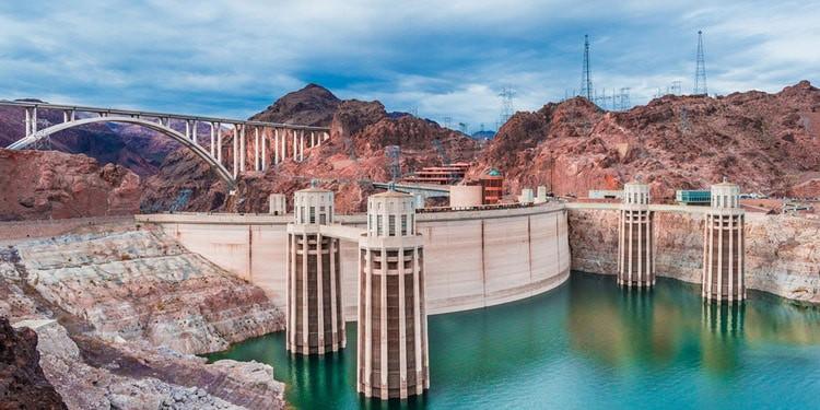 La presa de agua Hoover Hoover Dam Nevada