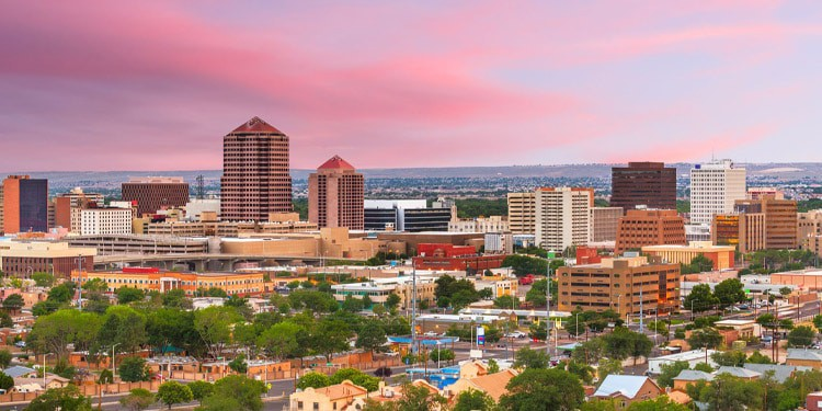 Mejores lugares donde vivir en Albuquerque Nuevo Mexico NM