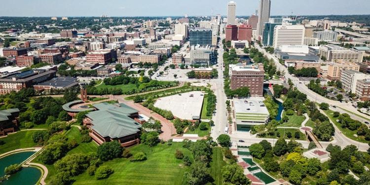Mejores lugares donde vivir en Omaha