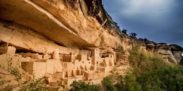 Parque natural Mesa Verde vivir en Colorado