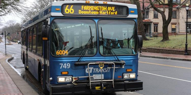 Trafico y transporte en Hartford Connecticut