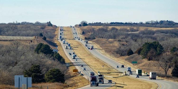 Trafico y transporte en Nebraska
