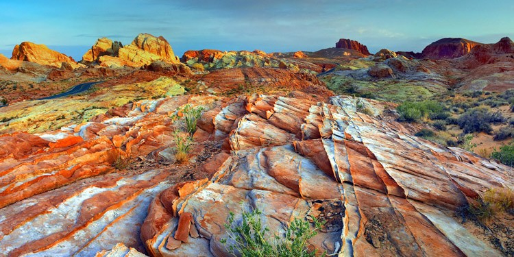 Valley of Fire State Park vivir en Nevada
