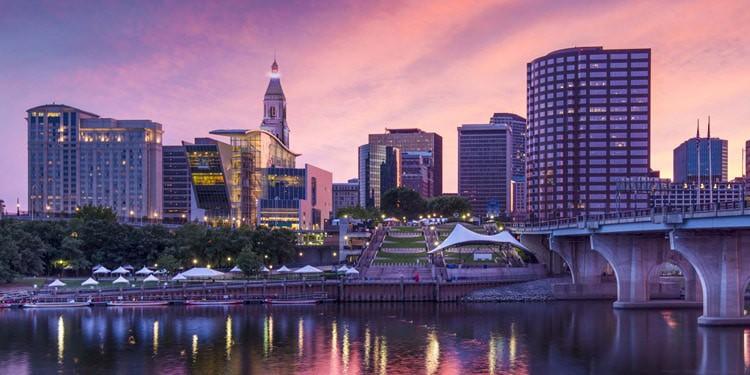 ciudades mas baratas Connecticut
