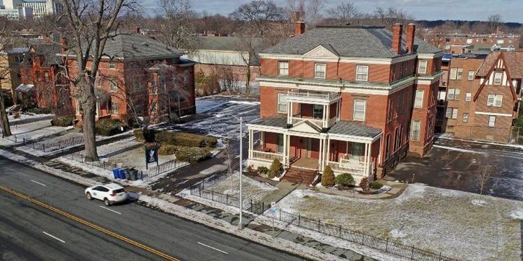 donde vivir en Hartford Connecticut asylum hill