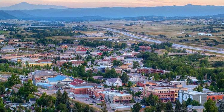 mejores ciudades Colorado Castle Rock