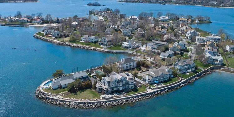 mejores ciudades Connecticut greenwich