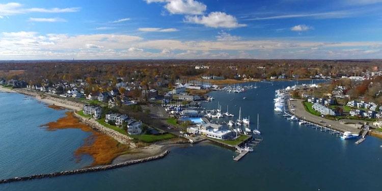mejores ciudades Connecticut milford