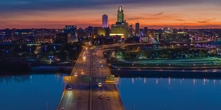 mejores ciudades Nebraska