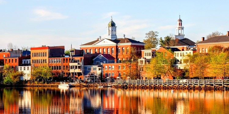 mejores ciudades New Hampshire exeter