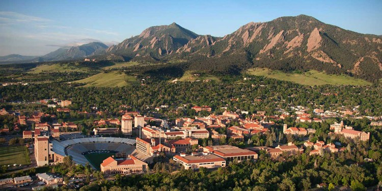 mejores ciudades para vivir en Colorado Boulder