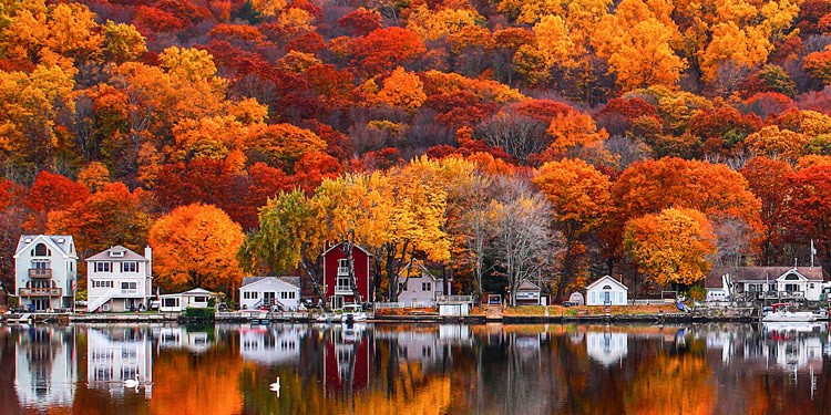 mejores ciudades para vivir en Connecticut shelton