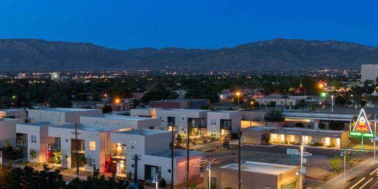 mejores lugares vivir en Albuquerque Nob Hill New Mexico