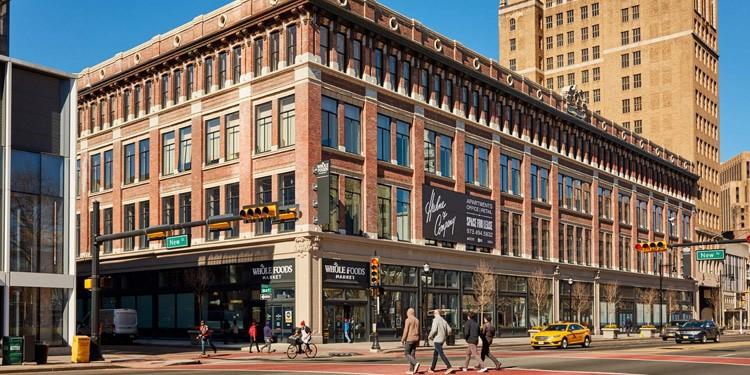 mejores lugares vivir en Newark Downtown Newark Central Business District