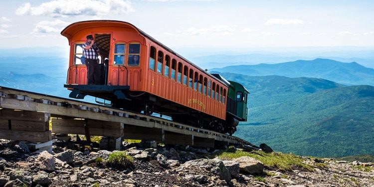 que hacer al vivir en New Hampshire Mount Washington
