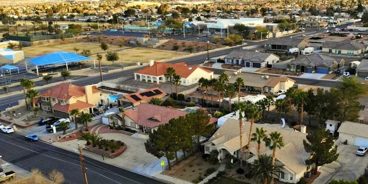 vivir barato en Nevada Indian Springs