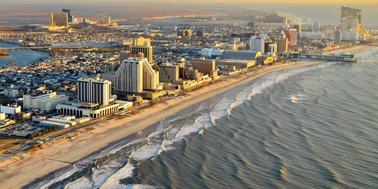 Atlantic City paseo maritimo Boardwalk