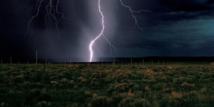 Campo de relampagos lightning field New Mexico