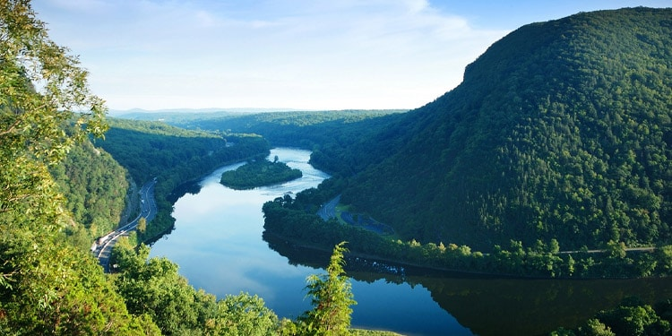 Delaware Water Gap National Recreation Area vivir en New Jersey