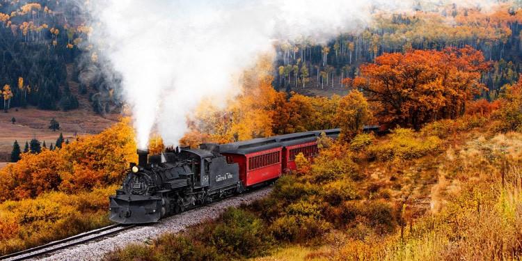 Ferrocarril Cumbres Toltec entretenimiento New Mexico