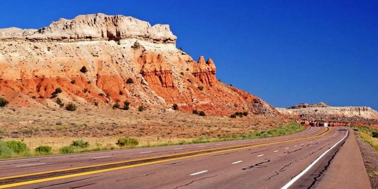 Trafico y transporte en New Mexico