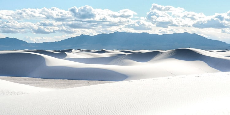 White Sands National Monument que hacer en New Mexico
