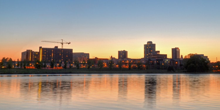 ciudades baratas New Jersey New Brunswick