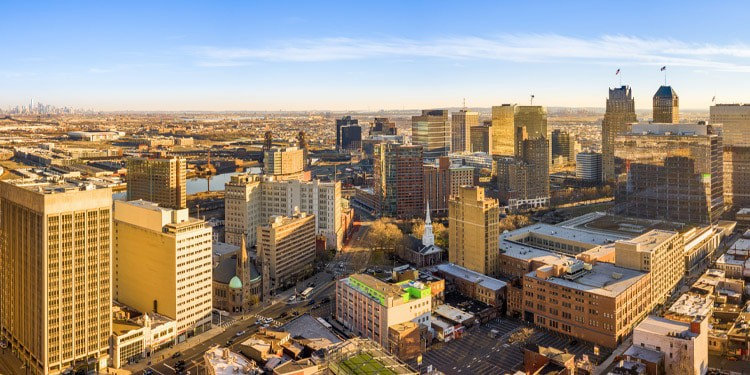ciudades baratas New Jersey
