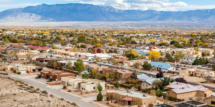 ciudades baratas New Mexico