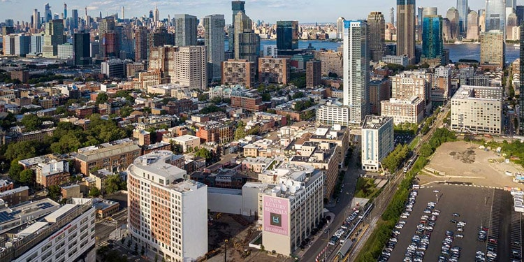 mejores ciudades New Jersey hoboken
