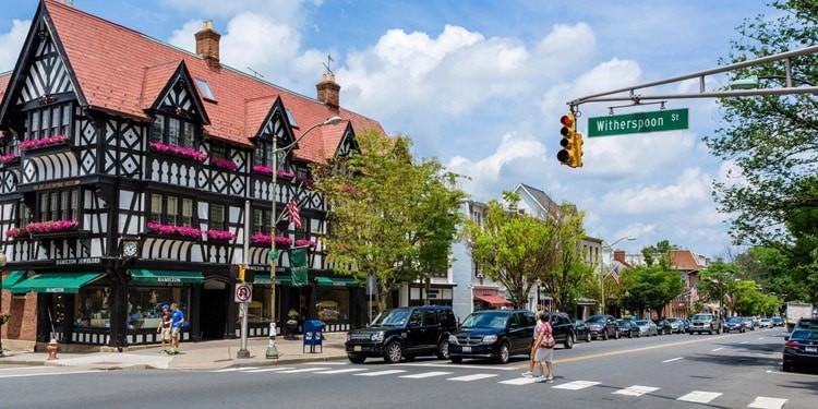 princeton mejores ciudades New Jersey