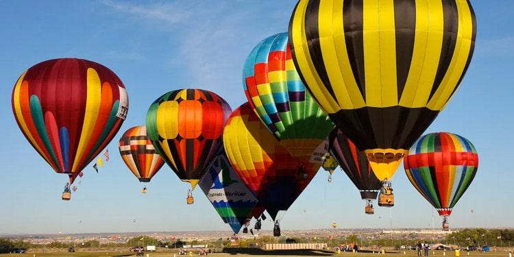 que hacer en New Mexico Fiesta de globos aerostaticos de Albuquerque Albuquerque International Balloon Fiesta