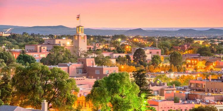 santa fe mejores ciudades New Mexico