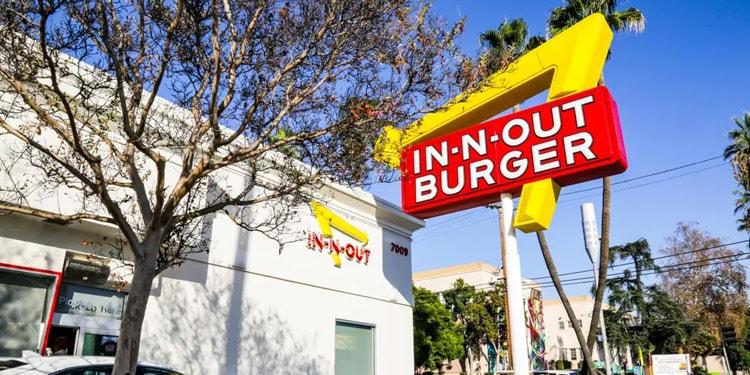 In N Out Burger empleos Sacramento California