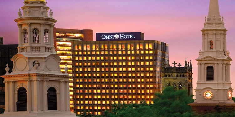 Omni Hotel trabajos New Haven Connecticut