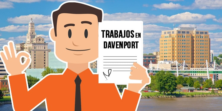 trabajos en Davenport Iowa