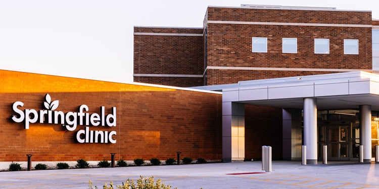Springfield Clinic trabajos Springfield Illinois
