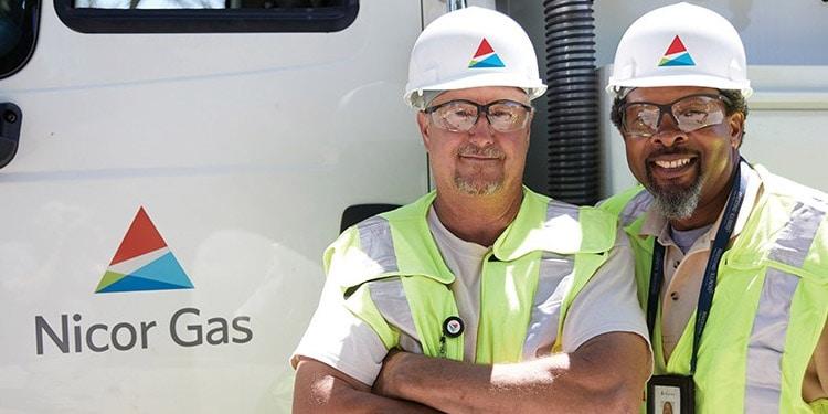 nicor gas Naperville Illinois trabajos