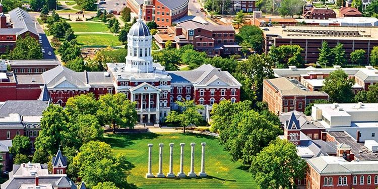 Columbia Missouri empleos University of Missouri