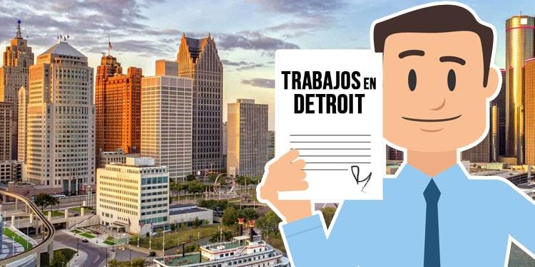 trabajos en Detroit Michigan