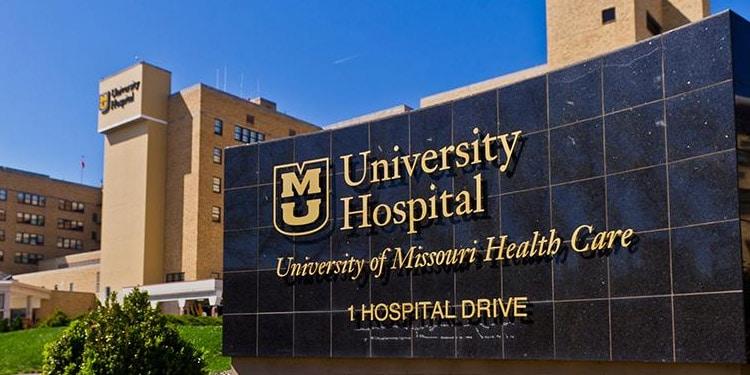 university hospital Columbia Missouri empleos